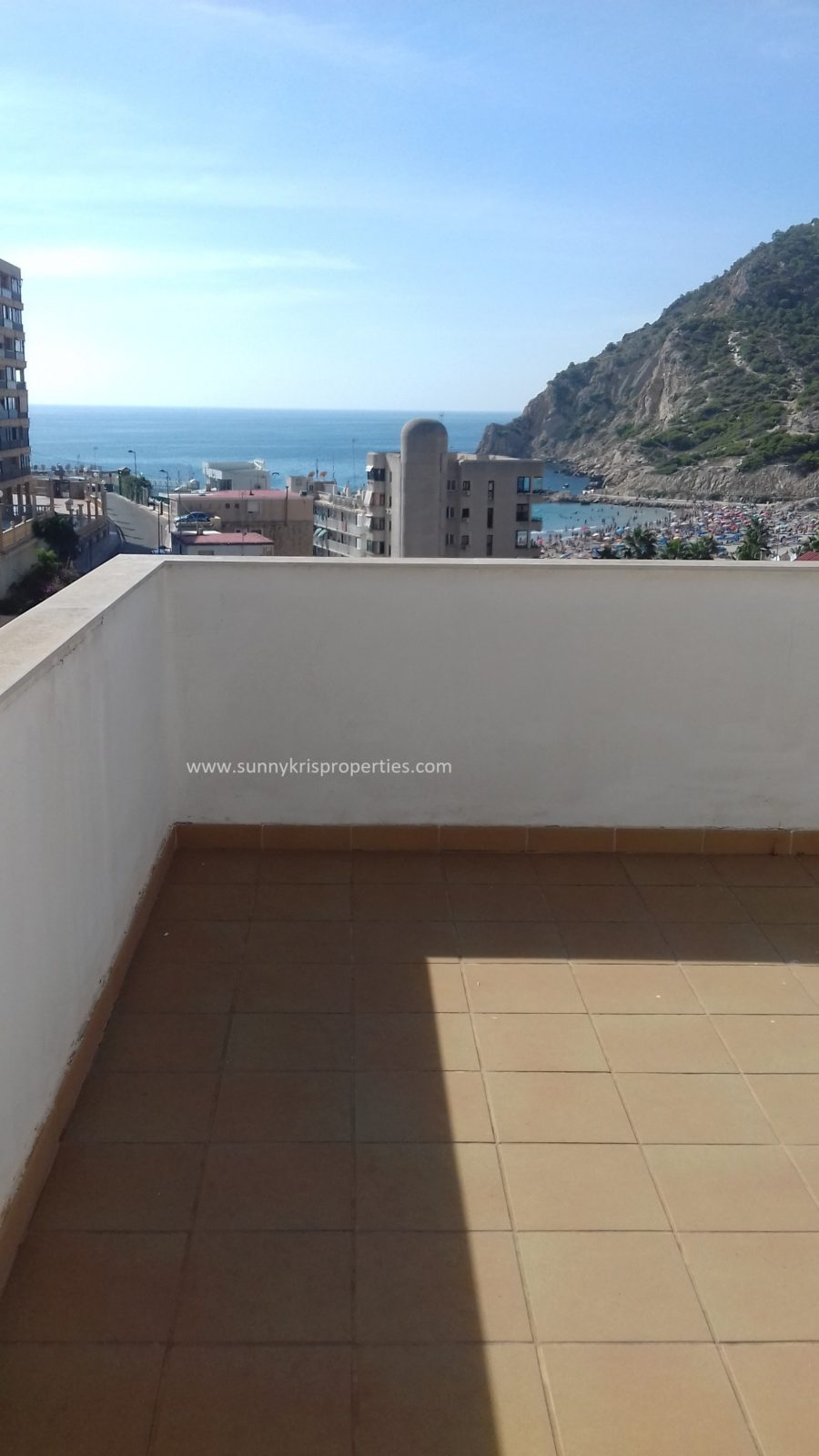 Penthouse with Amazing Sea Views in Cala de Finestrat, Benidorm