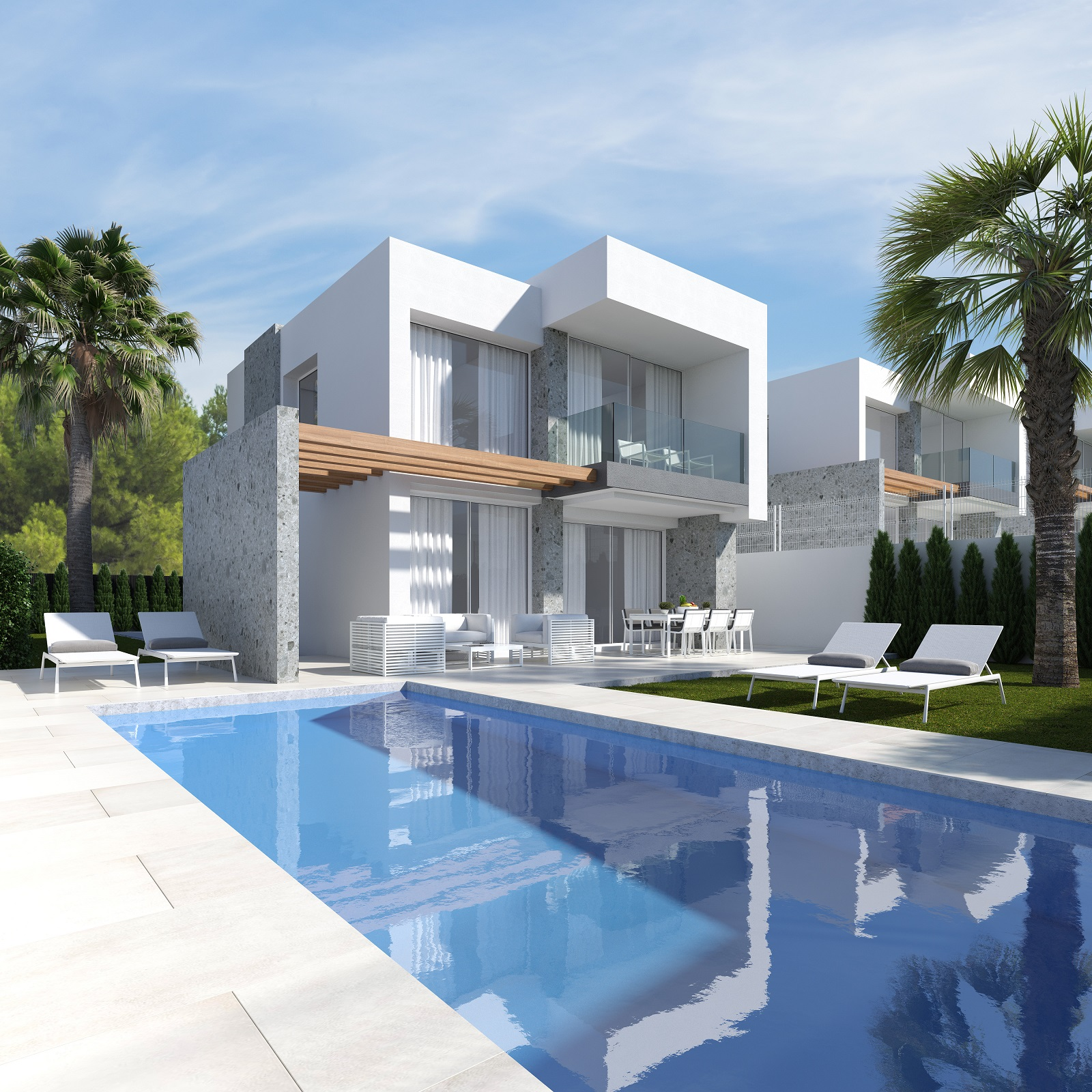 New Project: Elegant Detached Villas Surrounded by the Nature in Finestrat, Benidorm