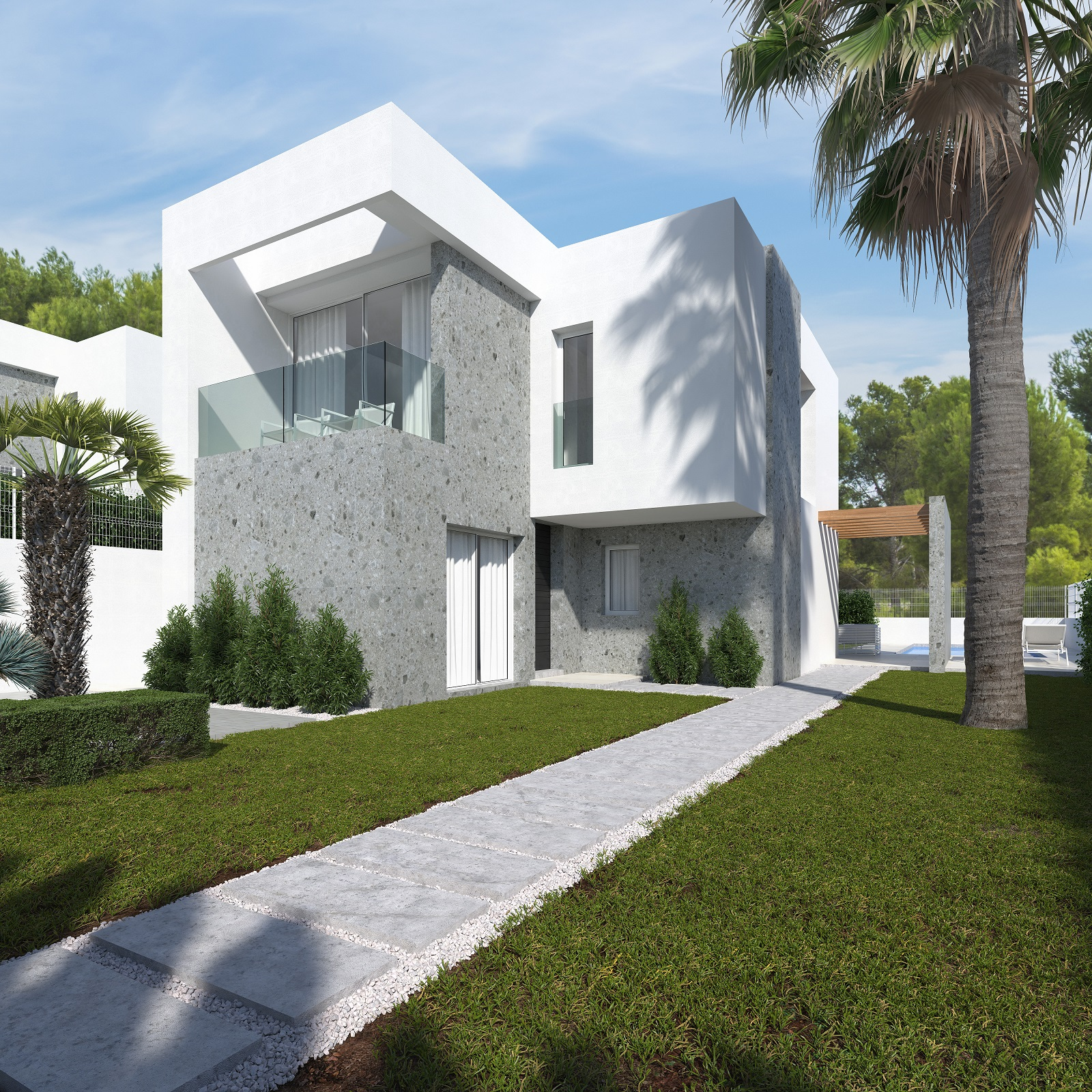 New Project: Beautiful Semi-Detached Houses in Finestrat, Benidorm