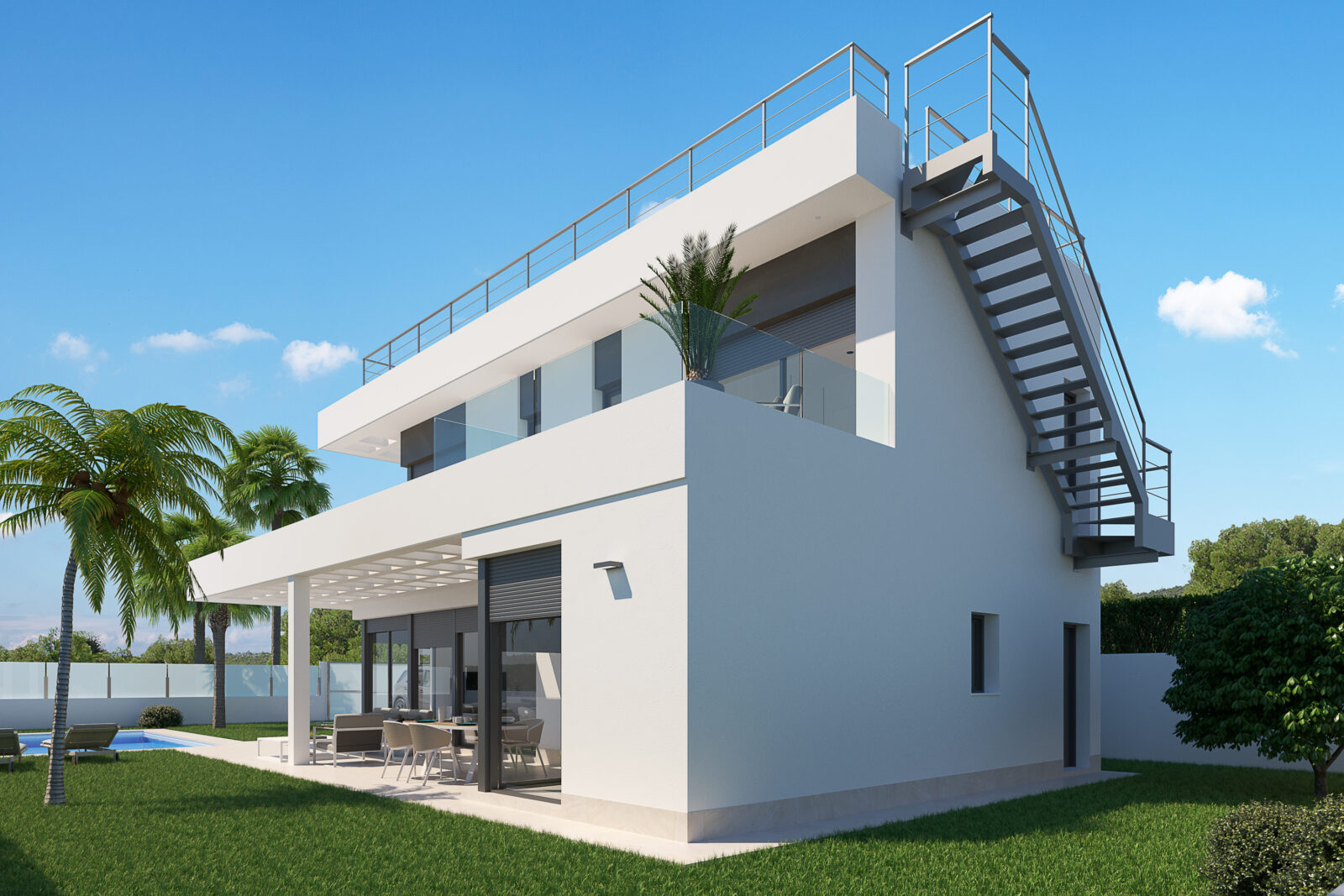 Elegant Spectacular Villas With a Sea View in Finestrat