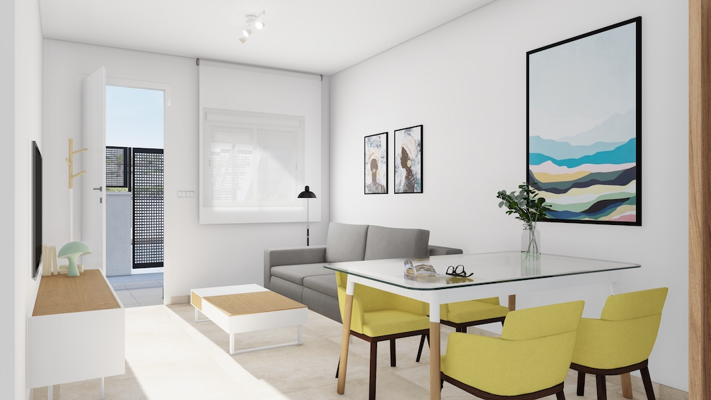 Beautiful New Build Apartments a Step Away from the Beach in Torre de la Horadada