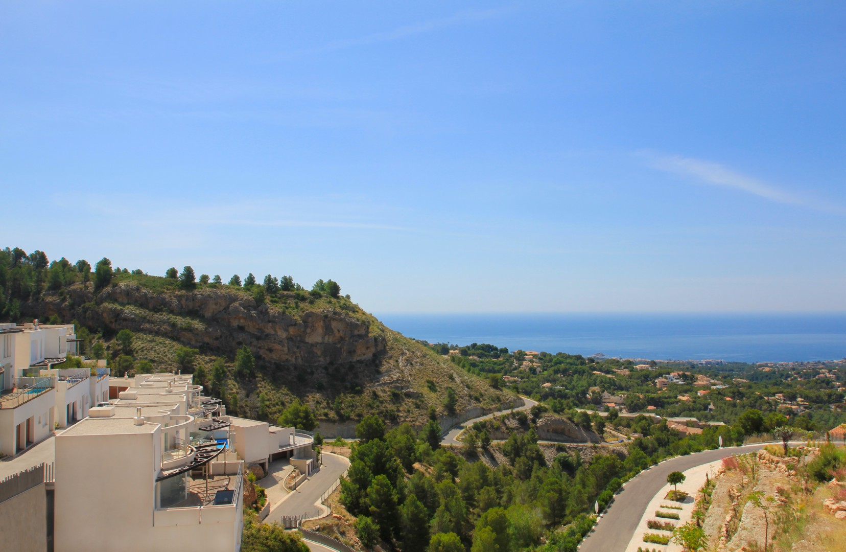 Spectacular New Build Detached Villas with Panoramic Views in Altea