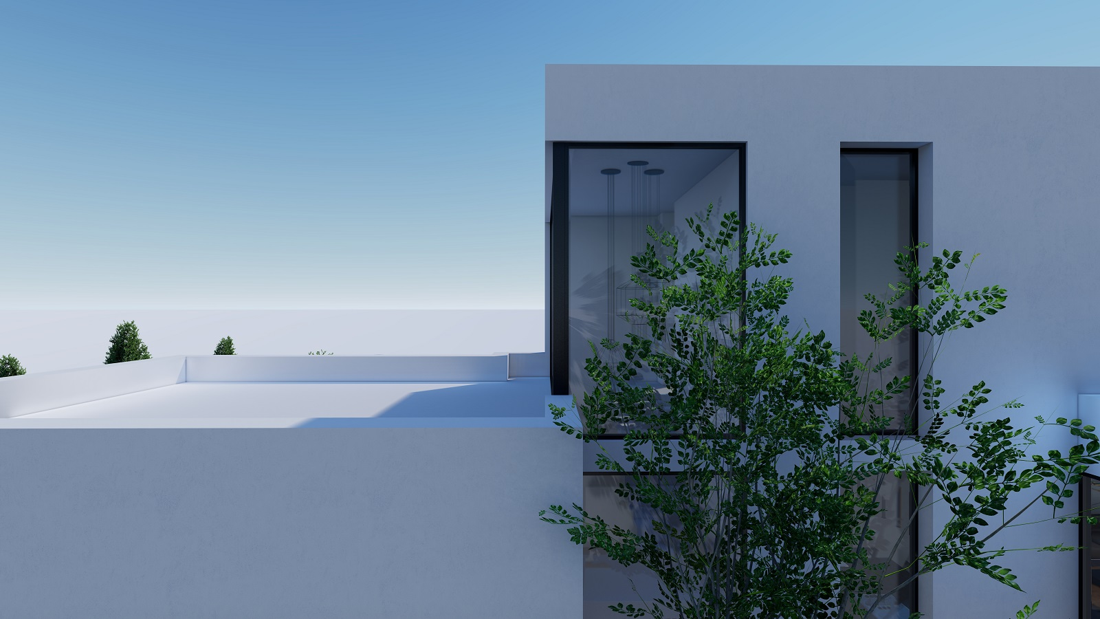 New Project of 2 Floor Detached Villas With a Private Pool and Views to the Sea in Polop, Alicante