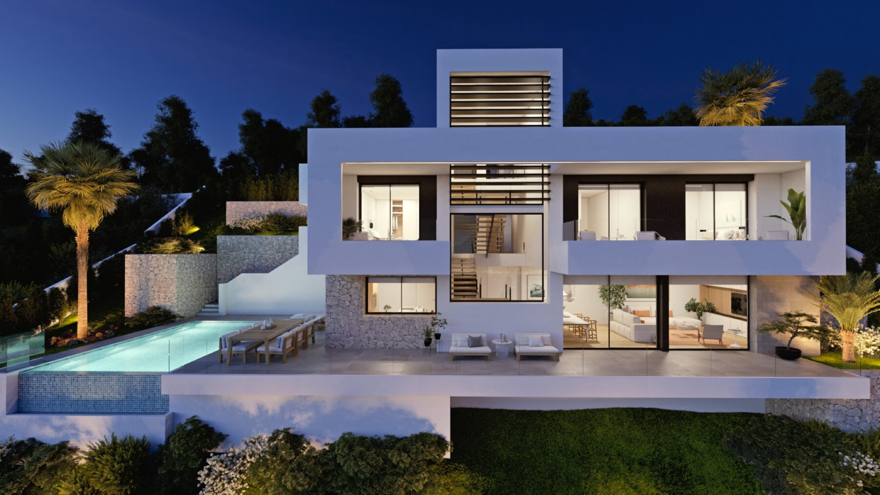 Luxurious Independent Villas With Breathtaking Sea Views in Altea